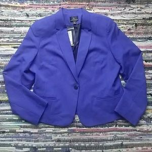 Rich Royal Blue Blazer